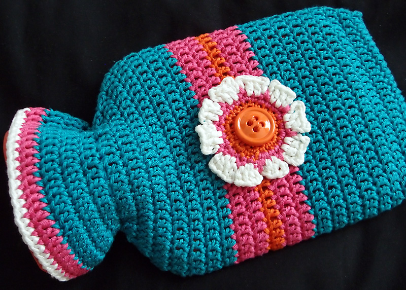 Crochet Hot Water Bottle Cover A Conversation With Moo