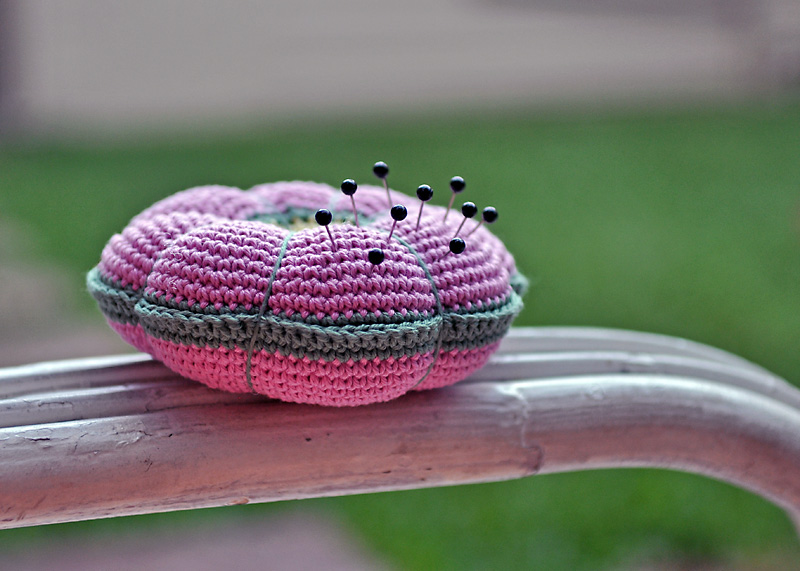 Crochet Pin Cushion Pattern A Conversation With Moo