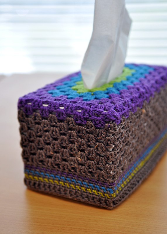 crochet tissue box cover a conversation with moo