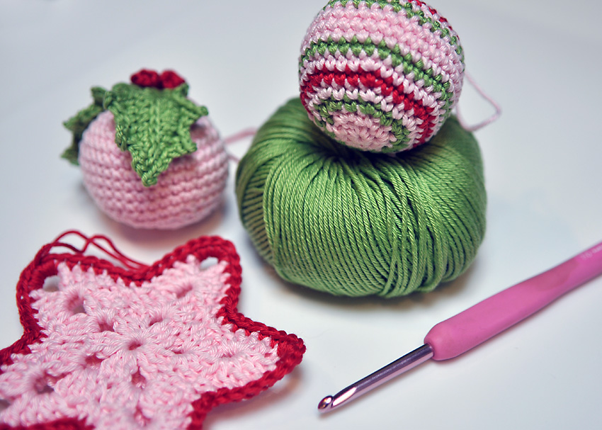 crochet christmas decoration a conversation with moo